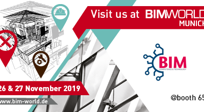 Messeteilnahme BIM world MUNICH 2019
